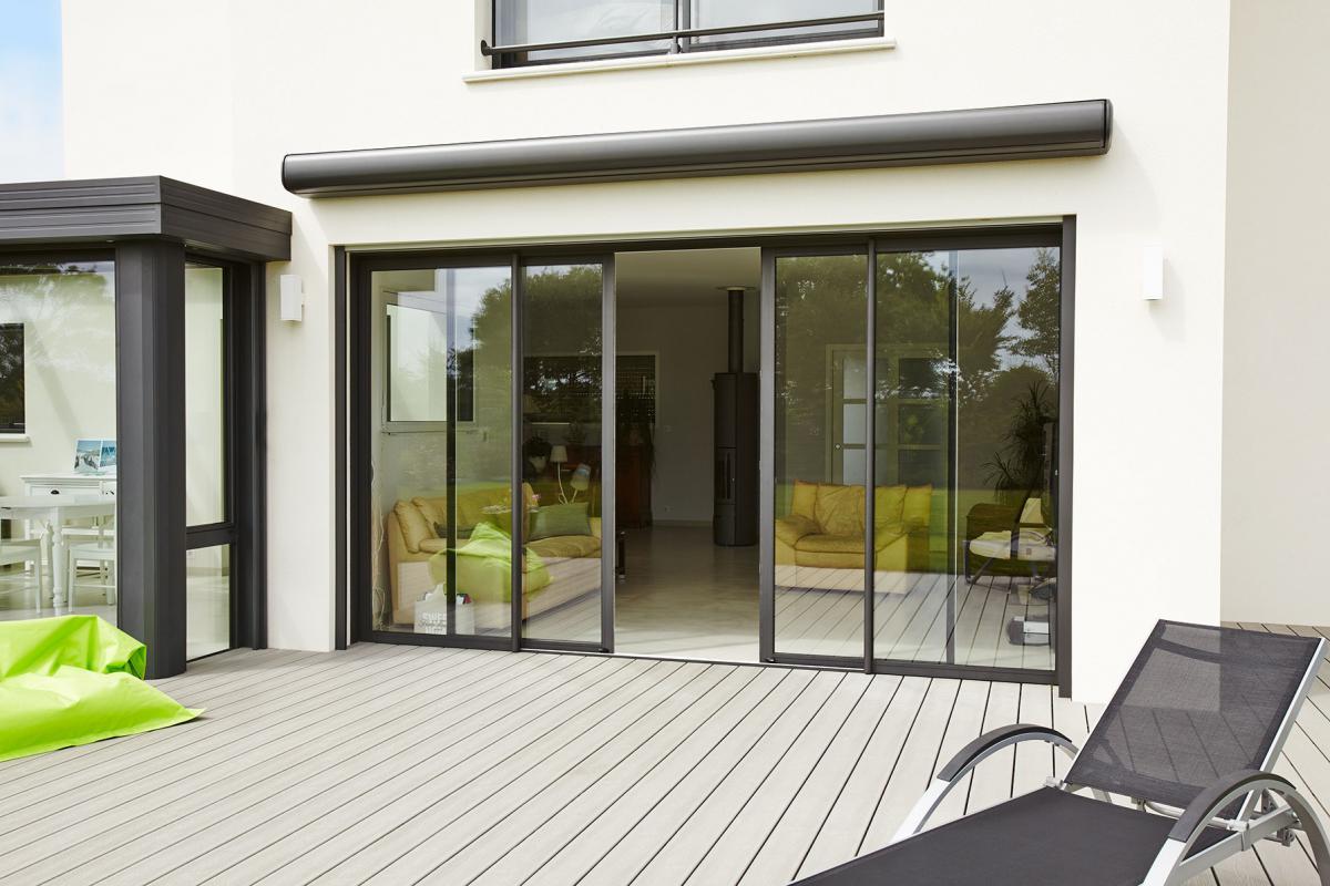 Des fenêtres coulissantes aluminium XXL | SWAO