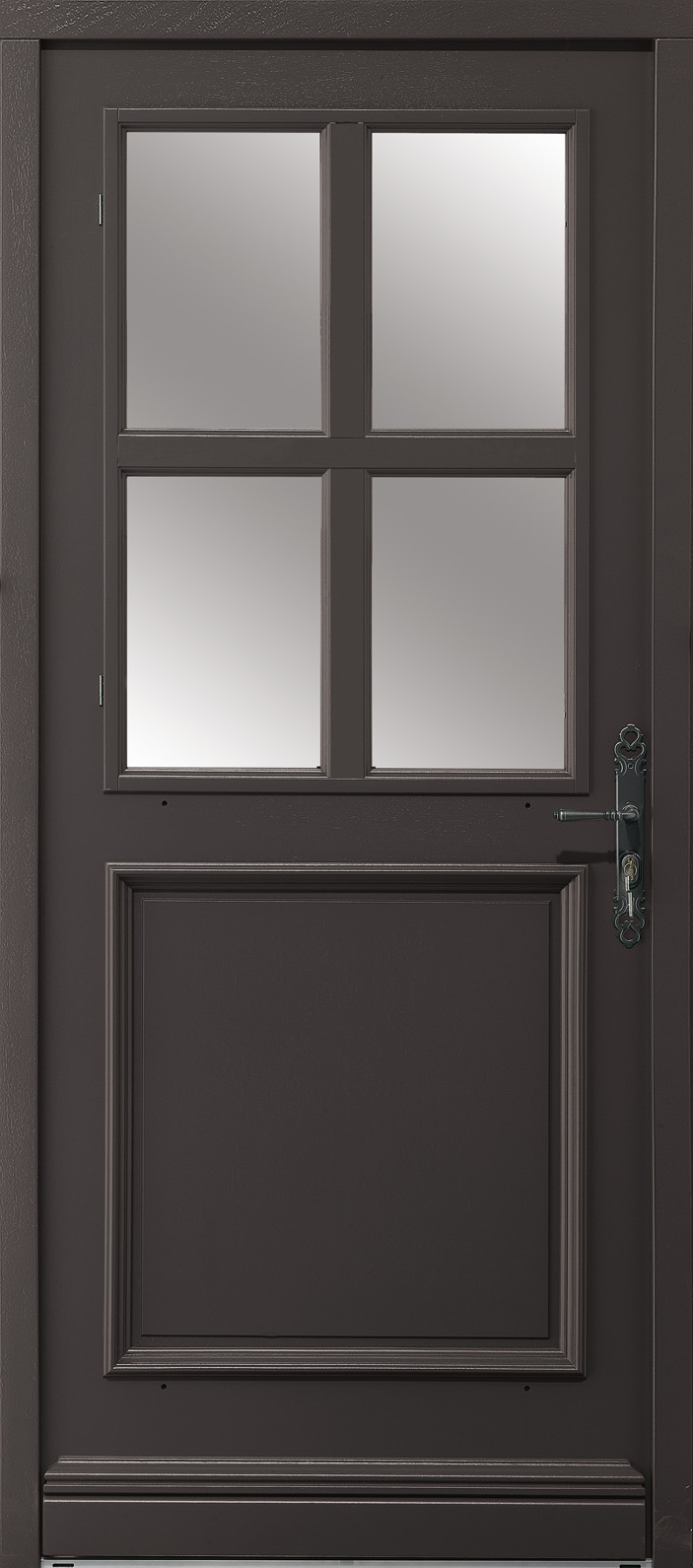 Portes d 39 entr e bois evenos swao for Porte 5 carreaux