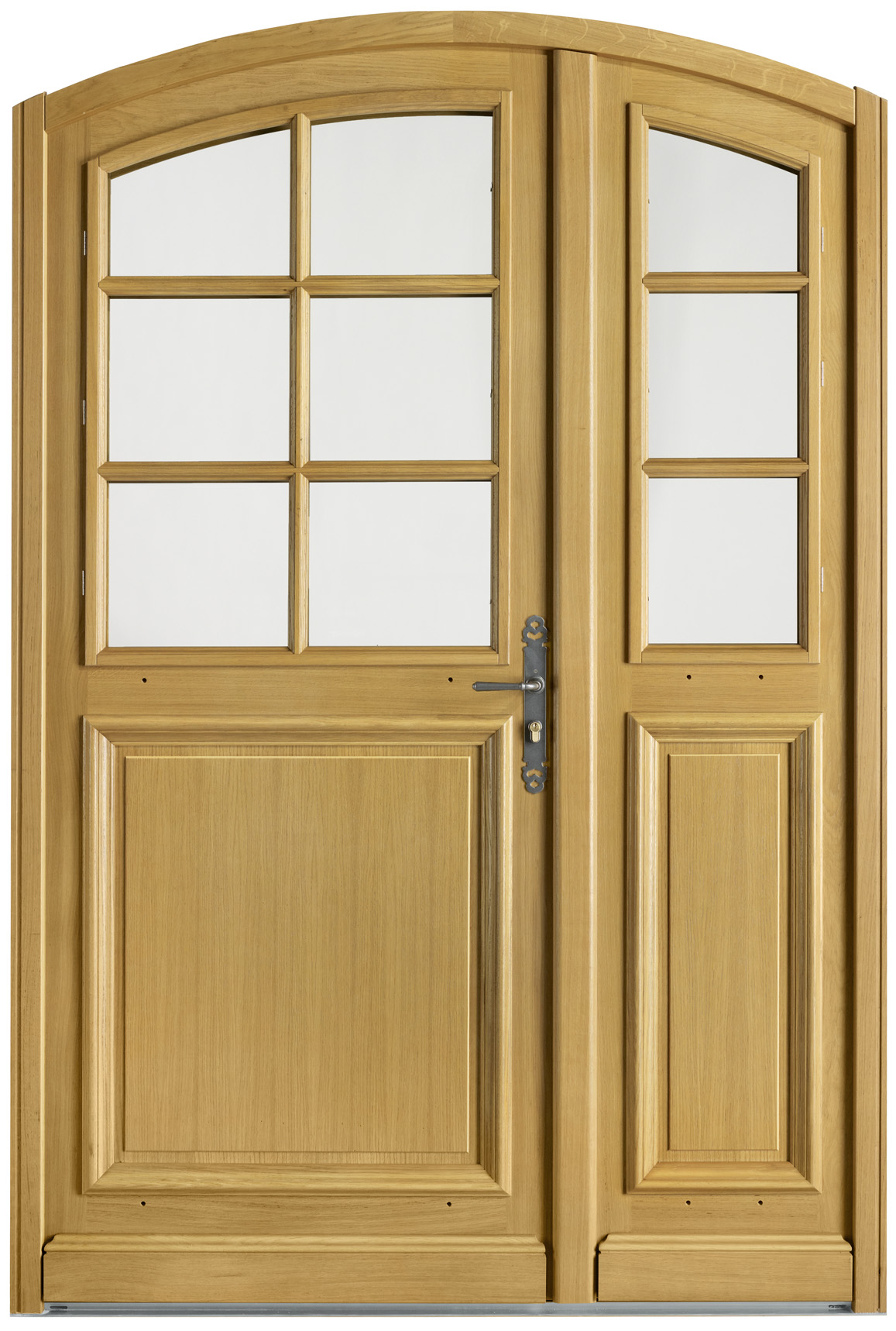 Portes d 39 entr e bois evenos swao for Porte interieur bois double battant