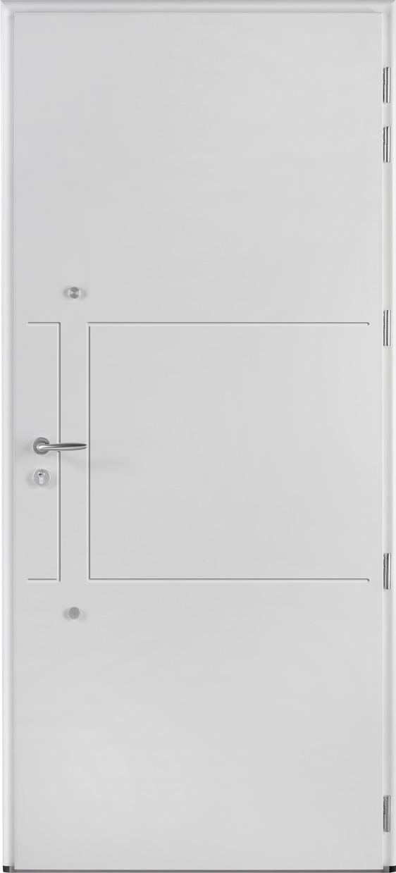Portes d 39 entr e aluminium liberty swao - Porte d entree standard ...