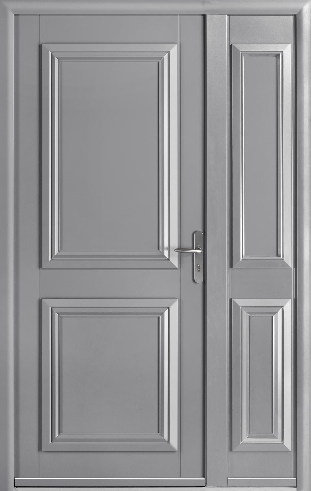 Portes Dentrée Aluminium MERLIN SWAO - Porte en aluminium
