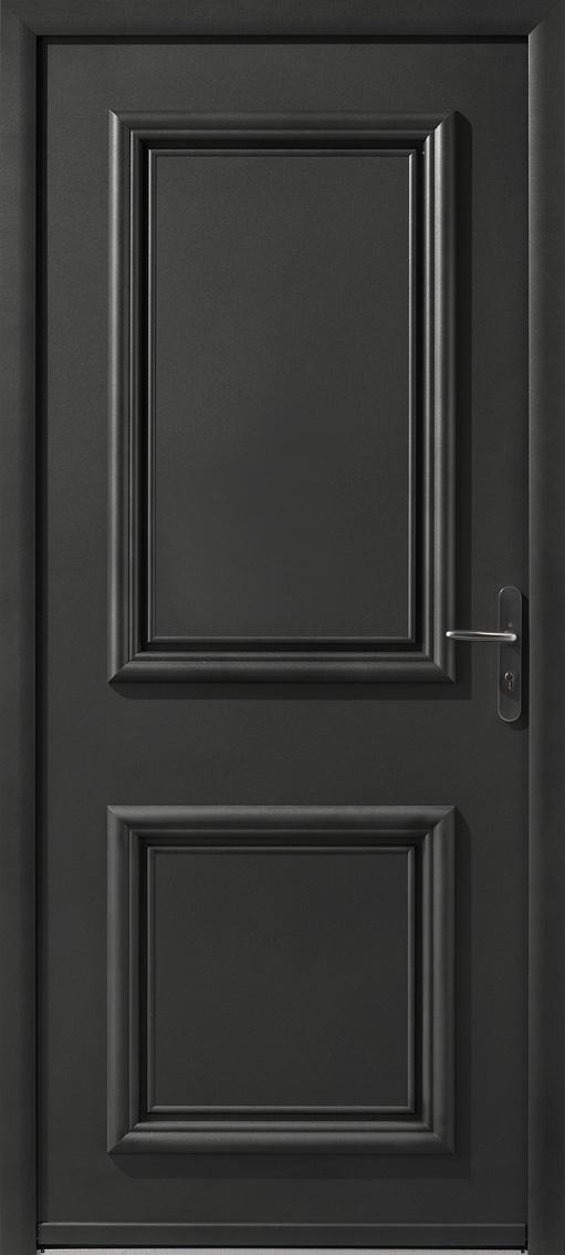 Portes d 39 entr e aluminium nelson swao for Porte d entree cintree aluminium