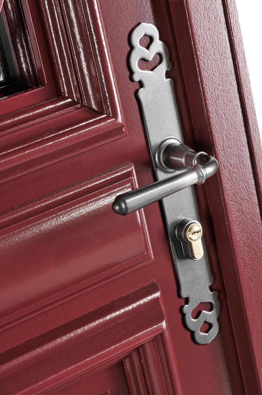 Portes d 39 entr e bois sanary swao - Poignee porte entree ...
