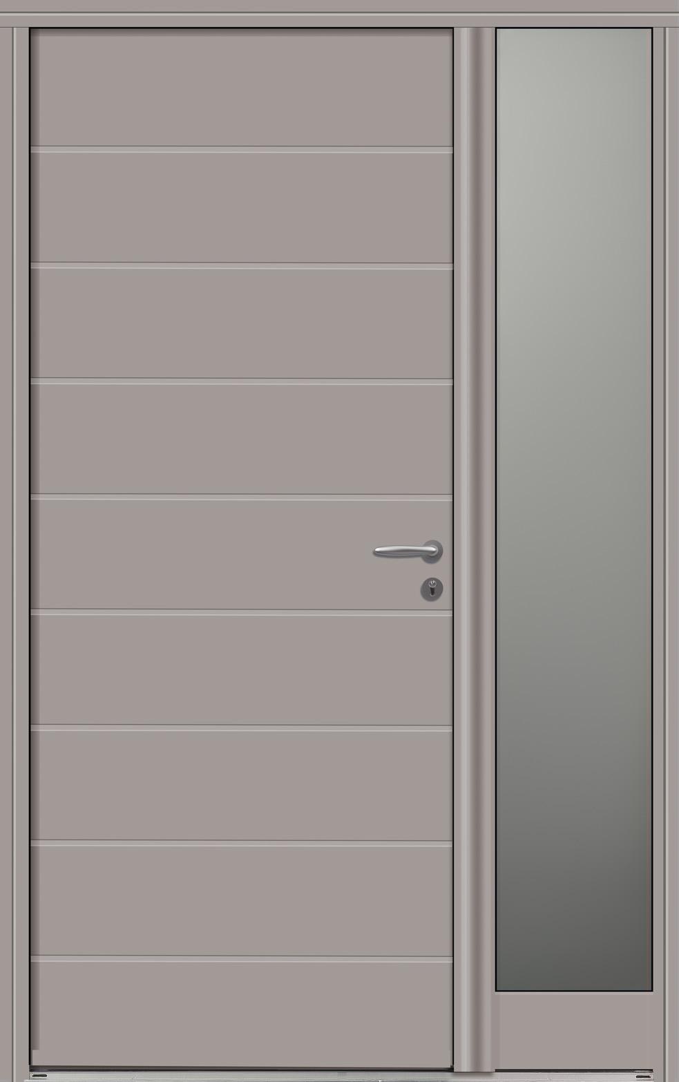 Portes d 39 entr e bois vichy swao for Fenetre ral 9006