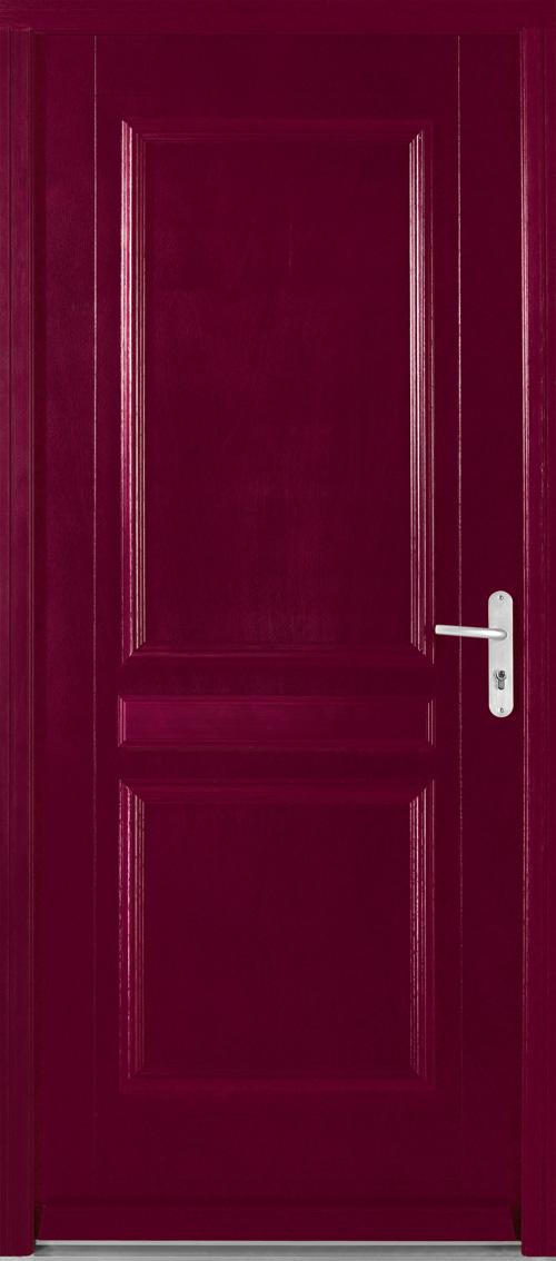 Portes d 39 entr e bois vougy swao for Epaisseur porte d entree