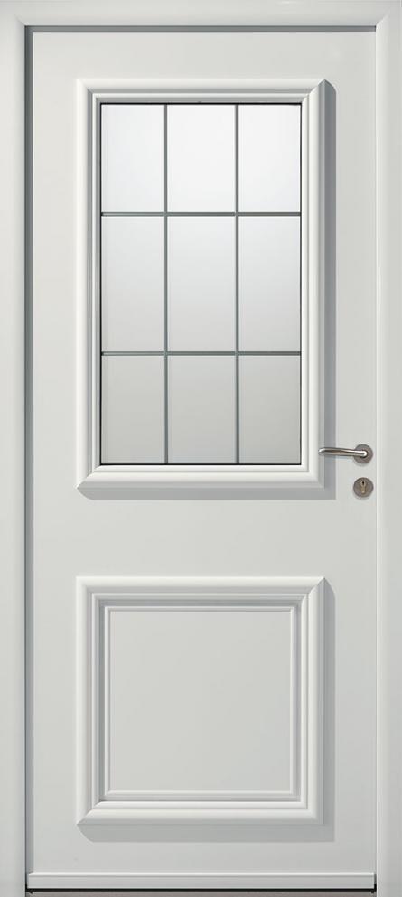 Portes d 39 entr e aluminium colisa swao for Porte d entree aluminium castorama