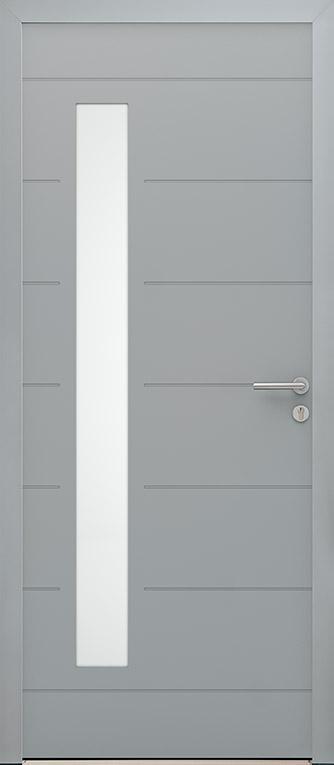Porte alu Luzia H2150 L900 mm.
