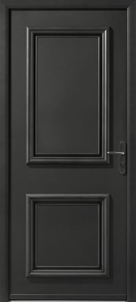 Portes d 39 entr e aluminium nelson swao for Epaisseur porte d entree