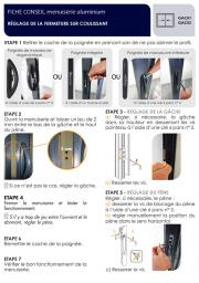 Fiche conseil menuiserie coulissant aluminium