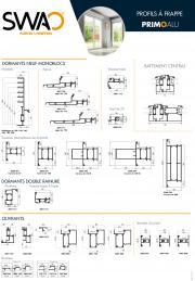 Profils fenêtres ALU