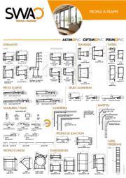 Profils fenêtres PVC