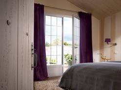 Porte-fenêtre 2 vantaux Blanc RAL 9016 H2150 L1400 mm.