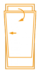 Porte-fenêtre 1 vantail oscillo-battant